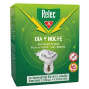 Relec dia y noche antimosquitos electrico liquido (1 unidad)