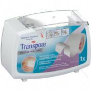 Esparadrapo hipoalergico - transpore (plastic portar 5 m x 2.5 cm)