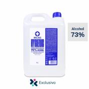 Gel hidroalcoholico 73% weling hygienic 5l