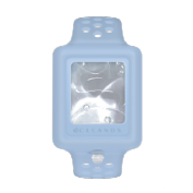 Pulsera gel hidroalcoholico azul cleands