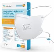 Mascarilla infantil FFP2 caja 10 uds Star Care