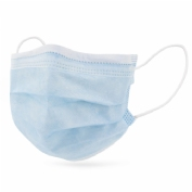 Interapothek mascarilla quirurgica infantil 10 uds color azul