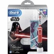 Cepillo dental electrico recargable infantil - oral-b kids (star wars con estuche de viaje)