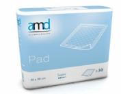 Protector de cama - amd pad super (60 x 90 30 u)
