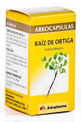 Arkocapsulas raiz de ortiga 50 capsulas