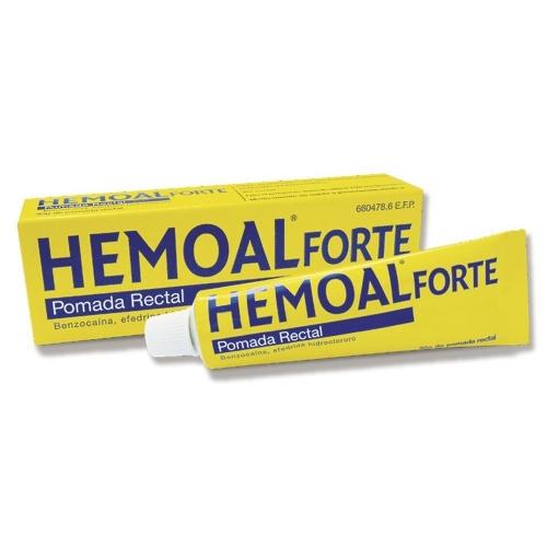 HEMOAL FORTE POMADA RECTAL, 1 tubo de 30 g