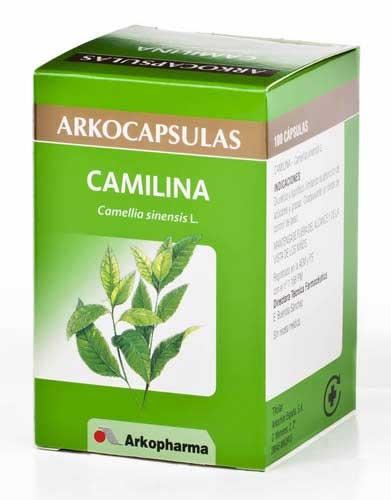 Arkocapsulas camilina te verde 100 caps.
