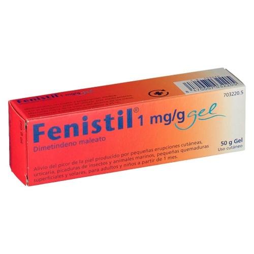FENISTIL 1 mg/g GEL , 1 tubo de 50 g
