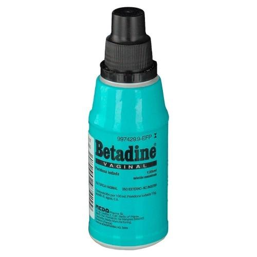 BETADINE SOLUCION VAGINAL, 1 frasco de 125 ml