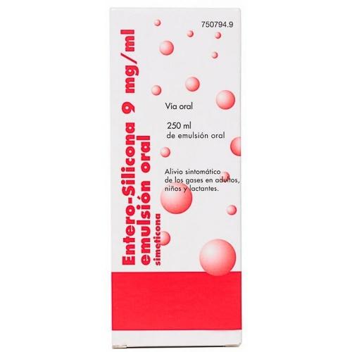 ENTERO SILICONA 9 mg/ml EMULSION ORAL , 1 frasco de 250 ml