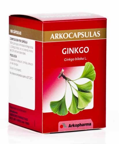 Arkocapsulas ginkgo biloba 100 capsulas