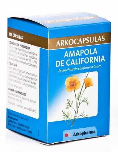 Arkocapsulas amapola california 100 caps