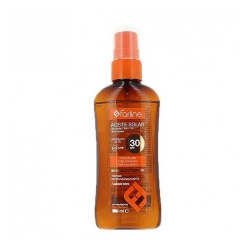 Farline aceite solar spf 30+ (200 ml)