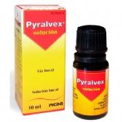 PYRALVEX SOLUCION, 1 frasco de 10 ml