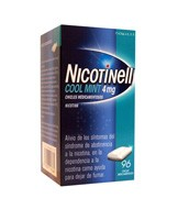 NICOTINELL COOL MINT 4 mg CHICLE MEDICAMENTOSO , 96 chicles