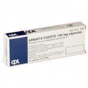 ARMAYA FUERTE 120 mg CAPSULAS DURAS. , 24 cápsulas
