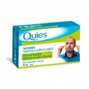 Tapones oidos silicona - quies (con cordoncillo)