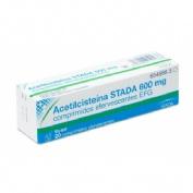 ACETILCISTEINA STADA 600 mg COMPRIMIDOS EFERVESCENTES EFG , 20 comprimidos (tubo)