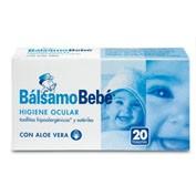 Balsamo bebe higiene ocular limpieza ojos bebe (20 toallitas)